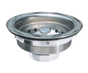 Wells Sinkware Stainless steel Basket Strainer S9100