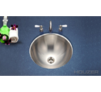Houzer Club Undermount Lavatory Conical Bowl CR-1620-40