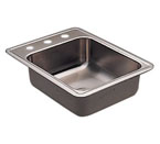Moen 22231 Camelot Stainless Steel 20 Gauge Single Bowl Drop In Sink
