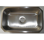 Mazi 309 Undermount Single Bowl Stainless Steel Sink