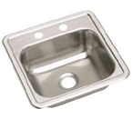 ELKAY 15X15 Dayton 2H Select KIT SINK STAINLESS D115152