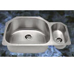 Suneli SM3221-R Undermount Double Bowl Stainless Steel Sink