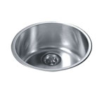 Dawn 3235 Topmount Single Bowl Stainless Steel Sink