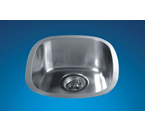 Dawn 3237 Undermount Bar Single Bowl Stainless Steel Sink