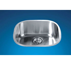 Dawn 3238 Undermount Bar Single Bowl Stainless Steel Sink