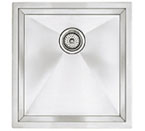 "Blanco Precision Undermount 16"" R10 Medium Single Bowl Sink"
