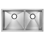 Blanco Precision MicroEdge Inset/Flushmount 1-3/4 Double Bowl Sink