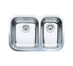 "Blanco Niagra Undermount 27-1/2"" Double Bowl Sink"