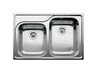 Blanco Supreme Double Bowl Undemrount Sink 510-888-R