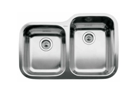 Blanco Supreme Double Bowl Undermount Sink 510-887-R