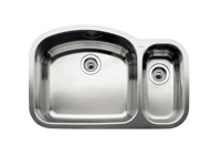 Blanco Blancowave Double Bowl Undermount Sink 510-880