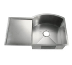 C-Tech-I Linea Amano Visso LI-2200-DBD Single Bowl Stainless Steel Sink