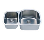 C-Tech-I Linea Imperiale Massilia LI-100-D Double Bowl Stainless Steel Sink