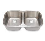 Suneli SM504 Undermount Double Bowl Stainless Steel Sink