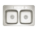 Blanco Spex II Equal Double Bowl Drop-In Sink