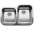 "Blanco Supreme Inset/Flushmount 1-3/4"" Reverse Double Bowl Sink"