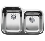 "Blanco Supreme Inset/Flushmount 1-3/4"" Double Bowl Sink"