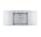 Blanco Flow Inset/Flushmount MicroEdge 3 Hole Sink