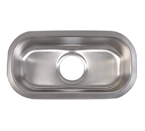 Mazi Undermount Stainless Steel Vegetable Sink