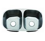 C-Tech-I Linea Zampina Marsala Double Bowl Stainless Steel Sink