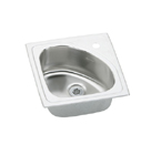 Elkay Harmony BLGR15151 Topmount Single Bowl Stainless Steel Sink