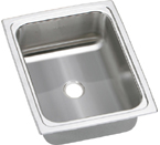 Elkay Gourmet Pacemaker BPSFRQ1215 Topmount Single Bowl Stainless Steel Sink