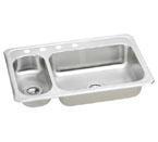 Elkay Gourmet Celebrity CMR3322 Topmount Double Bowl Stainless Steel Sink