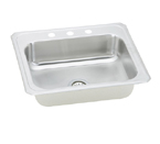 Elkay Gourmet Celebrity CR2521 Topmount Single Bowl Stainless Steel Sink