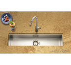 Houzer Contempo Trough Zero Radius Undermount Trough Bar/Prep CTB-3285