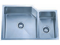 Delta Double Bowl Undermount Stainless Steel Sink 70x30 Signature Series 16 Gauge DL-HA009