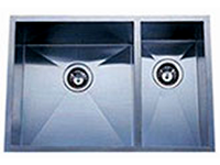 Delta Double Bowl Undermount Stainless Steel Sink 70x30 Signature Series 16 Gauge DL-HA122L
