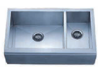 Delta Double Bowl Undermount Stainless Steel Sink 70x30 Signature Series 16 Gauge DL-HA308
