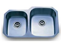 Delta Double Bowl Undermount Stainless Steel Sink 40x60 18 Gauge DL801R