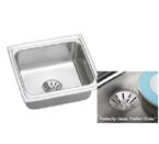 Elkay Gourmet Perfect Drain DLFR191810PD Topmount Single Bowl Stainless Steel Sink
