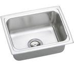 Elkay Lustertone 25x19x12 Single Bowl Sink DLFR2519