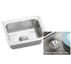 Elkay Gourmet Perfect Drain DLFR251910PD Topmount Single Bowl Stainless Steel Sink