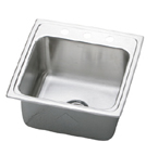 Elkay Lustertone 19x19x10 Single Sink DLR1919