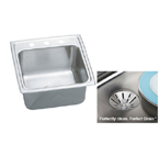 Elkay Gourmet Perfect Drain DLR191910PD Single Bowl Stainless Steel Sink