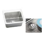 Elkay Gourmet Perfect Drain DLR252210PD Single Bowl Stainless Steel Sink