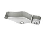 Elkay Design Inspirations DSGNR432010 Undermount Double Bowl Stainless Steel Sink