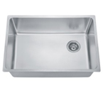 Dawn DSU2517 Single Bowl Undermount Stainless Steel Sink