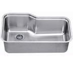 Dawn DSU3118 Undermount Single Bowl Stainless Steel Sink