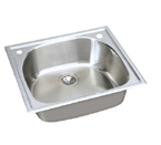 Elkay Harmony ECG2522 Topmount Single Bowl Stainless Steel Sink