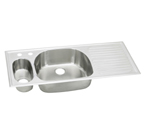 Elkay Harmony ECGR4822 Topmount Double Bowl Stainless Steel Sink