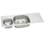 Elkay Harmony ECGR5322 Topmount Double Bowl Stainless Steel Sink