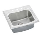 Elkay Echo ECTM2522102 Topmount Single Bowl Stainless Steel Sink