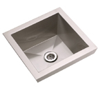Elkay Asana EFL1515 Topmount Bathroom Stainless Steel Sink