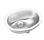 Elkay Asana LLVR1310 Lustertone Topmount Bathroom Stainless Steel Sink