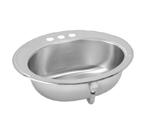 Elkay Asana LLVR1916 Lustertone Topmount Bathroom Stainless Steel Sink