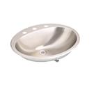 Elkay Asana LLVR2017 Lustertone Topmount Bathroom Stainless Steel Sink